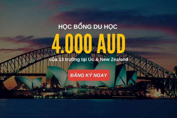 Học bổng 4.000 AUD dự bị và cao đẳng Navitas tại Úc và New Zealand