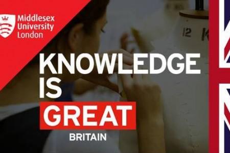 Học Bổng Thạc Sĩ 2.000 Bảng Anh tại ĐH Middlesex