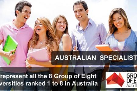 Group of Eight - 8 trường đại học hàng đầu tại Úc